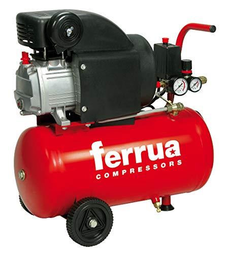 FERRUA RCCC404XCE507 Compressore Lubrificato 24 Litri Schmierter Kompressor 24 Liter 2HP