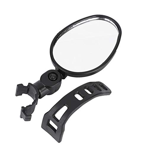 Germerse Back View Mirror Bike Back View Mirror Bike Mirrors for handles of most bikes Mountain Road Bikes