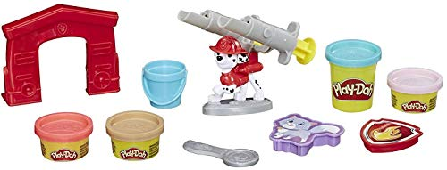 Play-Doh E6887 Paw Patrol Rescue Marshall Toy Figure & Toolset with 4 Non-Toxic Colors