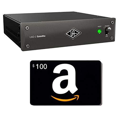 Universal Audio UAD-2 Satellite Thunderbolt OCTO Core, Amazon Gift Card $100.00 Bundle