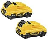 DEWALT 12V MAX Batteries, 3.0-Ah, 2-Pack (DCB124-2)