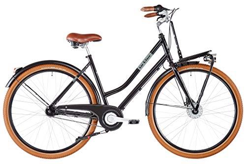 Ortler Miss Liz Damen Glossy Black Grey Rahmenhöhe 55cm 2020 Cityrad