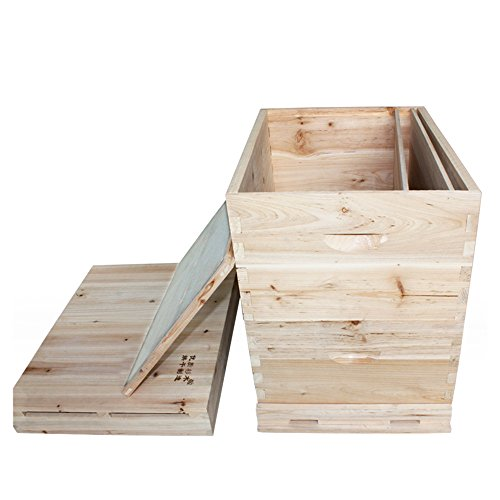 Material Para la Apicultura de Siete Cajas de Altas Colmenas