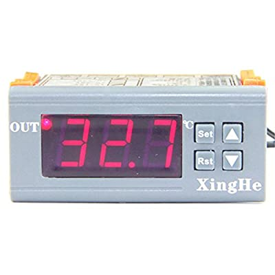 Digital Temp Controller Micro Thermostat 12V Temperature Difference Control Switch