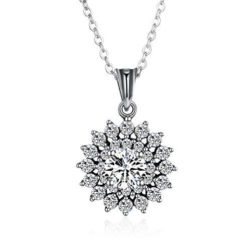GYXYZB S925 Sterling zilver, hoogwaardig, niet-allergeen, sieraden, fijne creatieve, stenen zonnebloempitten