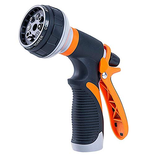 Spray Gun, Washing Shower Pet, High Pressure Hose Gun Nozzles for Watering Plants Car, Practical and Convenient, Anti-Slip Design,Simple to Use