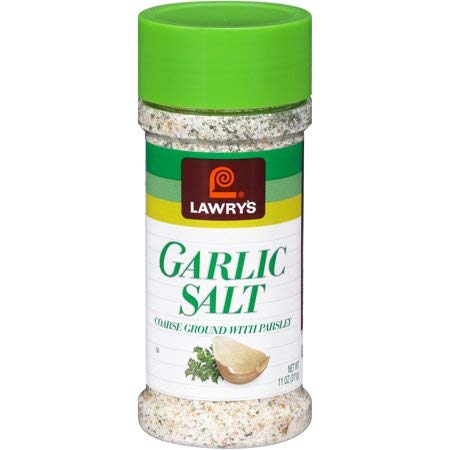 Lawry's Coarse Ground with Parsley Garlic Salt, 11 oz (3 Pack)