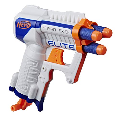 Hasbro- Nerf N-Strike Elite Triad - Pistola de juguete, Color (A1690EUA) , color/modelo surtido