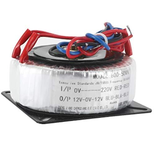 ZCX Zcxiong Transformador de Cobre de Potencia toroidal 30VA 220V / 380V / 110V a Dual 12V 15V 18V 24V 15V-12V-0-12V-15V 12V-0-12V-15V 12V-0-12V Varias personalizaciones