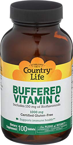 Buffered Vitamin C - Time Release (1000mg) 100 tabs