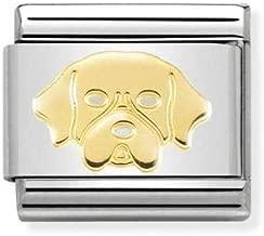 Charm Nomination in Acciaio e Oro – Composable – 030162/56
