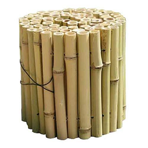 ZHANWEI Gartenzaun Staketenzaun Weißer Bambus Holz Gemüsegarten Faltbar Terrasse Rand Rasenkante Beeteinfassungen, 4 Größen (Color : 1pc, Size : 100x15cm)