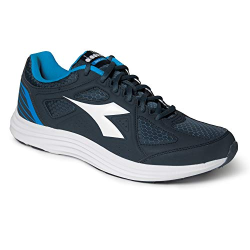 Diadora Scarpe Sneaker Uomo Modello Heron Win 2 (Classic Navy/White - 42)