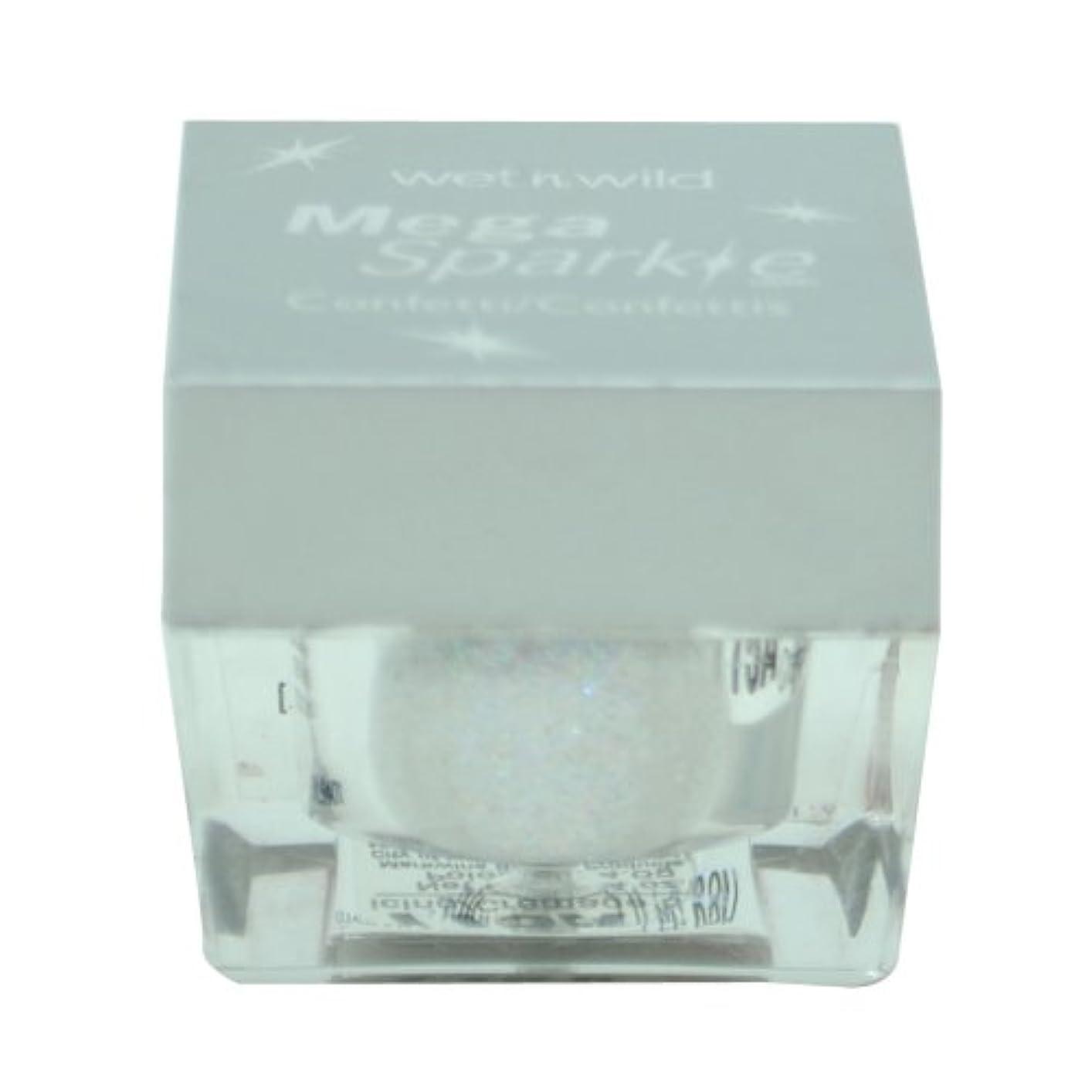 確立仕立て屋きつくWET N WILD MEGA SPARKLE CONFETTI #775A WHITE ICING