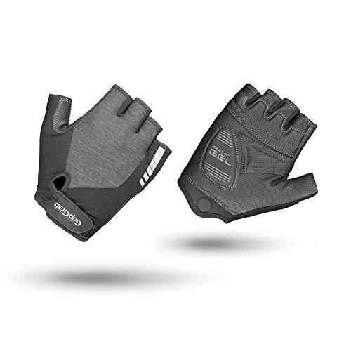 GripGrab Women's ProGel-Gepolsterte Kurzfinger Damen Fahrrad Handschuhe-Premium Gel-Rennrad, Mountainbike, Gravel Guantes Cortos de Ciclismo, Mujer, Gris, Medium