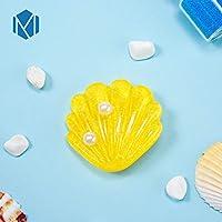 TMYQM 女性女の子シェルパールメタルヘアピン甘いビーチ帽子ヘアアクセサリー2020 INS海ヒトデアクリルヘアクリップ (Color : Color D)