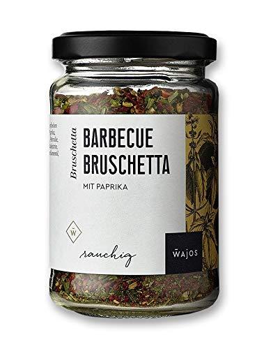 Wajos Barbecue Bruschetta mit Paprika rauchig Kräutermischung für BBQ & Grill 65g