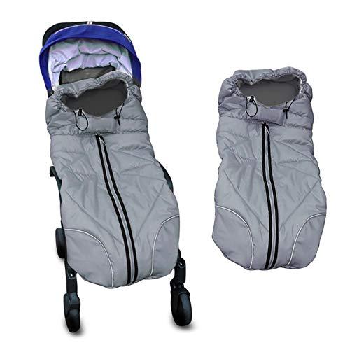 Schlafsack Baby Herbst Winter Einschlagdecke Babyschale Fußsack Kinderwagen Autositz Universaler Wasserdicht Atmungsaktiv Winterfußsack Swaddle Decke