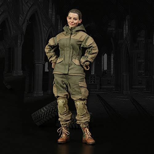 1/6 Russian Battle Angle АNNA Figuras De Acción Female Soldado Militar Modelo De Estatua De Juguete Colección Artesanal Materiales De Protección Del Medio Ambiente De PVC Regalo Para Adultos Y Niños.