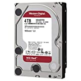 western digital wd red 4 tb nas hard disk interno 3.5, 5400 rpm class, sata 6 gb/s, cmr, 64 mb cache, wd40efrx