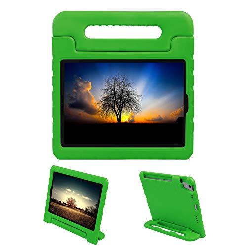 LEADSTAR kinderen beschermhoes voor nieuwe iPad Pro 11 2018, kindvriendelijk kinder bescherming hoes Eva Case licht schokbestendig beschermhoes tas voor Apple iPad Pro 11 groen