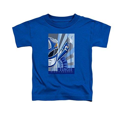 Power Rangers Blue Ranger Deco Toddler T-Shirt 4t