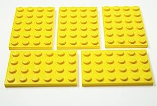 LEGO 1x Platte Grundplatte Bauplatte Baustein 4x6 Noppen gelb 3032