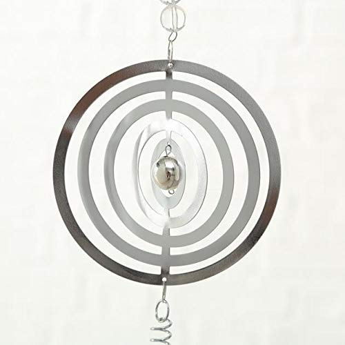 Girlande Windspiel Metall silber 1812-6024600 - 4