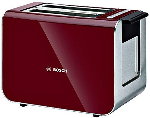 Bosch Bosch Tat86104Gb Styline Toaster,Red Rot