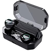 Ouldpa Bluetooth Earbuds with Built-in Mic & LED Charging Case