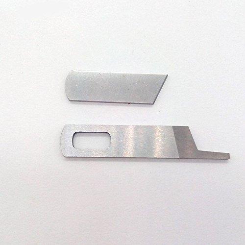 Couteau inférieure + supérieur surjeteuse lame Singer #412749 #412585