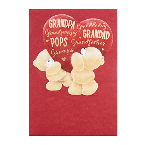 Valentijnskaart voor opa van Hallamark - Pops, opa, opa, opa - multi-naam voor altijd vrienden ontwerp