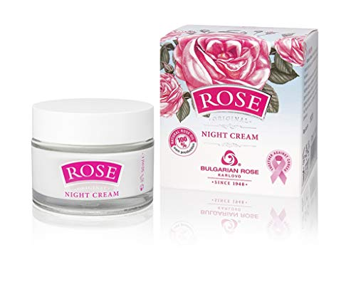 ROSE Night Cream - with natural rose oil, 50ml