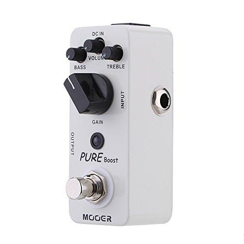QKP Mooer Pure Boost Micro Mini Boost Effect Pedal For Electric Guitar True Bypass - Quarkscm