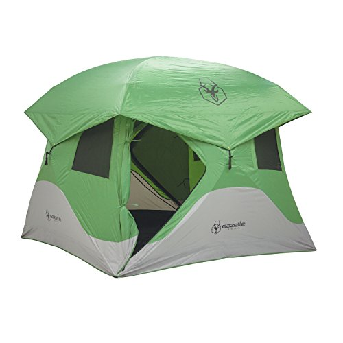 Gazelle 33300 T3 Pop-Up Portable Camping Hub Overlanding Tent, Easy Instant Set up in 90 Seconds, 3 Person