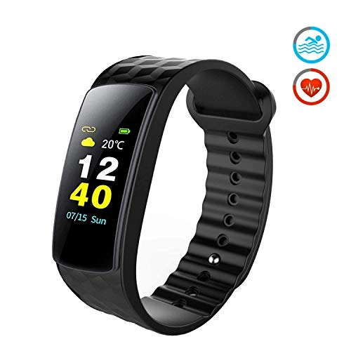Sharon Health Activity Coach | hartslagmeting, stappenteller, slaaptracking enz. | 7 sportmodi | compatibel met AOK Plus, Google Fit, Apple Health