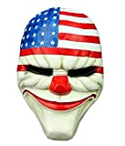 King Ma Payday2 Unisex Cosplay Resin Mask Halloween Costumes