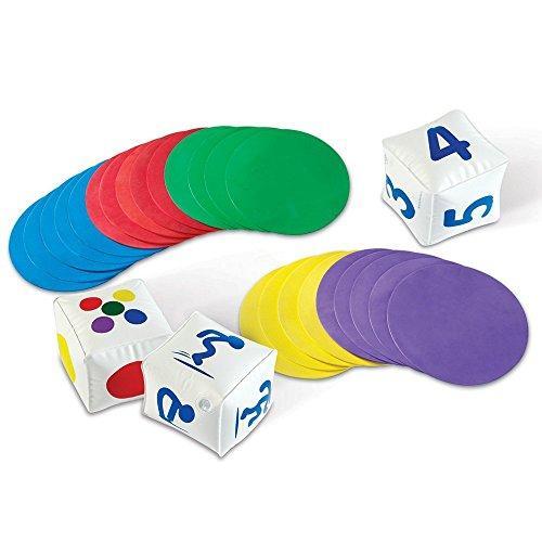 Learning Resources actividades para el aula Ready, Set, Move, color (LER1883) , color/modelo surtido