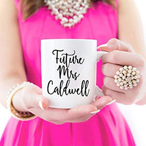 Taza Future Mrs, regalo para hermana, prima, amiga, regalo para ella, novia, regalo de San Valentín