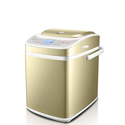 WXHHH Multifunktional Brotbackautomat,Programmierbar Vollautomatischer Brotbackmaschinen 21 Programme 15 Stunden Delay Timer Frühstücksmaschine Brotbackautomaten Maschine