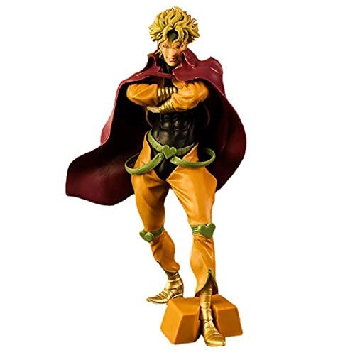 Akazan 28cm Japón Anime JoJo's Bizarre Adventure Steel Ball Run Diego Brando EL Mundo PVC Figura Juguetes Otaku Favorito Edición Limitada Modelo Estatua Estática Decoración Regalo