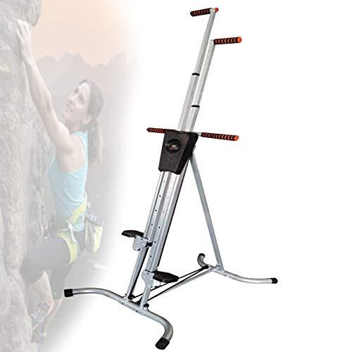 Máquina de escalada en casa, plegable para fitness, combina tonificación muscular y...