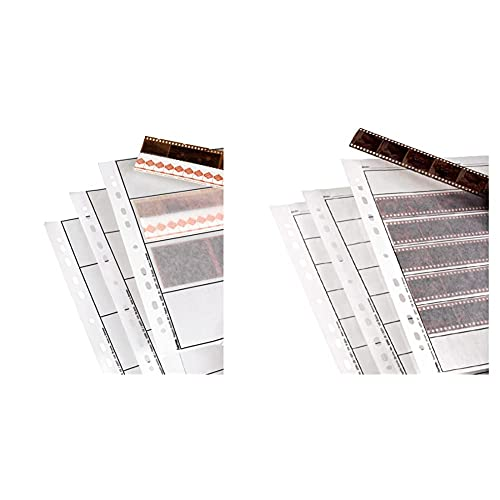 Hama - Negative Sleeves, 6 x 9 cm, Glassine Matt, 300 mm, 230 mm (Importado) + Negative Sleeves, 260 x 310 mm (Set de 25 Hojas)