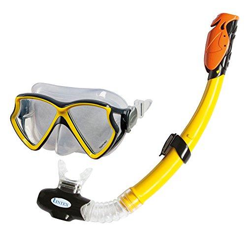 Intex 55960 - Tubo máscara buceo silicone Aviator
