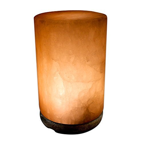 Natural Himalayan Salt Lamp with Bulb, Dimmer Cord