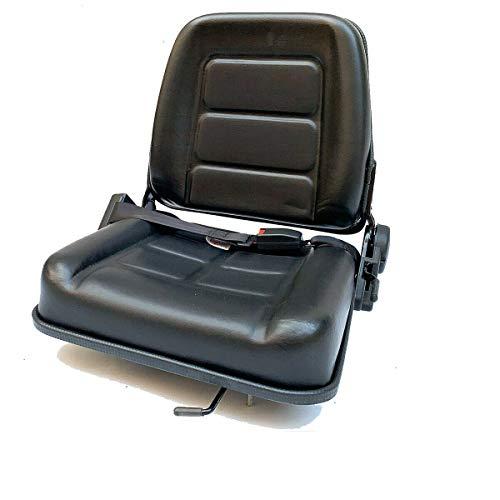 TABODD Garden Traktor - Asiento para carretilla elevadora, cortacésped universal, asiento trasero para tractor