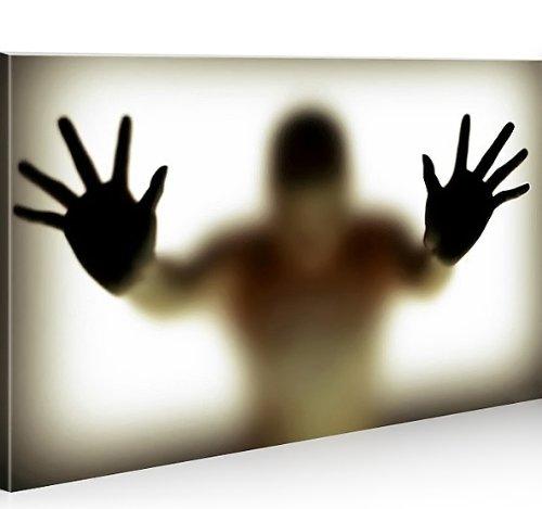 islandburner Bild Bilder auf Leinwand Schattenspiel 1K XXL Poster Leinwandbild Wandbild von islandburner - art up your life ®
