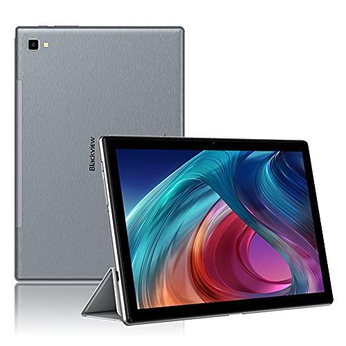 Blackview Tab8 Tablet, 10,1 Zoll FHD 6580mAh Akku Android 10 Tablet-PC, 1920x1200 FHD IPS Display 4GB RAM mit 64GB Speicher, 4G LTE Octa-Core Prozessor Phablet, Dual SIM, Wi-Fi, Face ID, GPS, Grau
