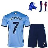 camiseta futbol david villa