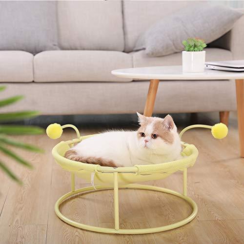 Arena para mascotas para todas las estaciones, sillón reclinable divertido para gatos, cama para gatos, a prueba de humedad de verano, arena para gatos, hamaca para gatos tipo perrera